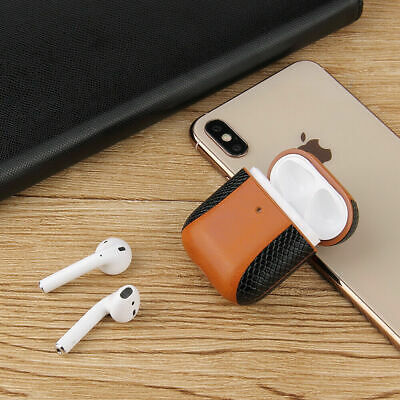 Airpod Case Cover protective Leather Cover for Apple AirPods Accessories Earpod
