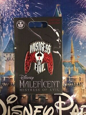 Disney Parks Maleficent Mistress Of Evil Live Action Pin LE2000 In Hand LE 2000