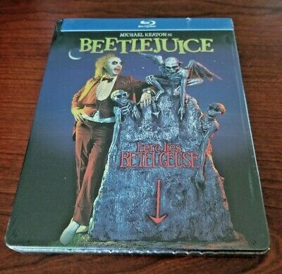 Beetlejuice SteelBook Blu-ray Limited Edition NEW!!