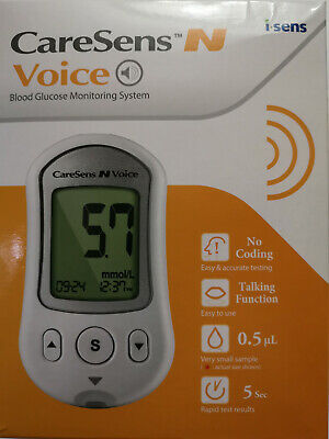 CareSens N VOICE Blood Glucose Monitoring System NEW