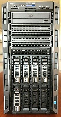 Dell PowerEdge T630, 2x Xeon E5-2603v3, 32GB, 2x 300GB SAS, 3x 2TB HDD Tower