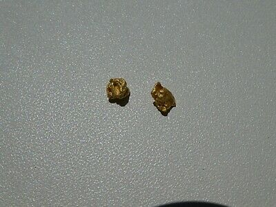 """Gold Nuggets 0.960 Grams From The Victorian """"Golden Triangle"""""""
