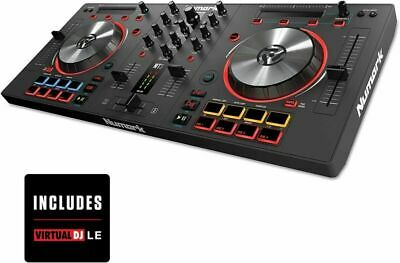 Numark Mixtrack 3   All-In-One 2-Deck DJ Controller for Serato Including...