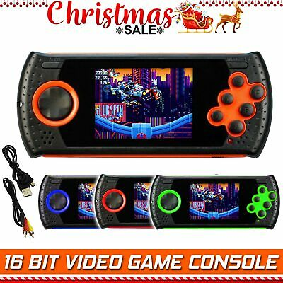 Portable Handheld Sega Video Game Gaming Console Player Retro Xmas Gift For Kids