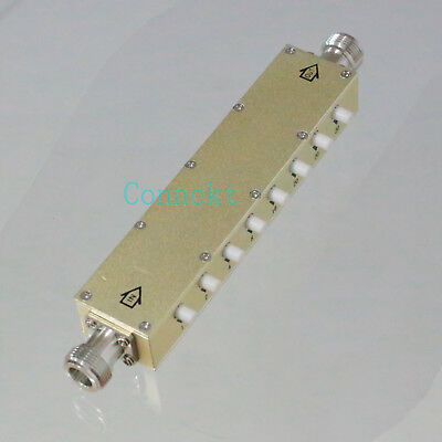 Attenuator Adjustable ADJ Variable N 5W DC-2.5GHz 0~60dB in 1dB Step 8-Key-Press