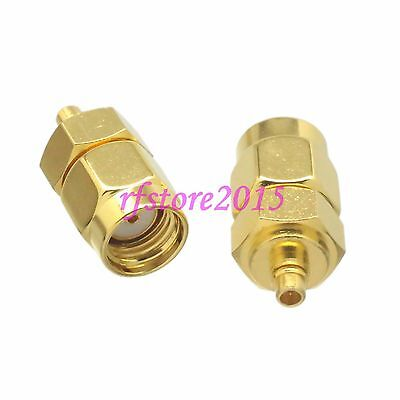 1pce Adapter Connector RP-SMA male jack to MMCX male plug for wireless