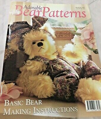 Adorable Bear Patterns - Magazine - 45 pages of patterns & Instructions
