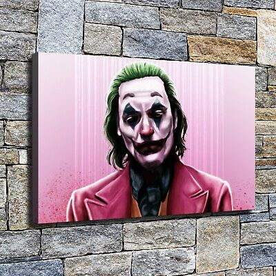 """12""""x20"""" Pink splashing clown pictures HD on Canvas Home Decor Wall paints photo"""
