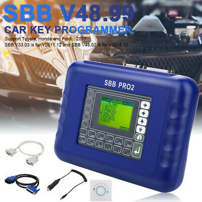 SBB PRO2 Key Programmer Tool V48.88 No Token Support Car Replace For Universa`