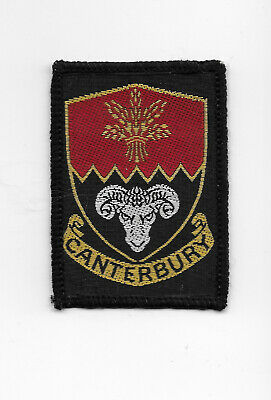 Canterbury Scouts Badge patch cloth