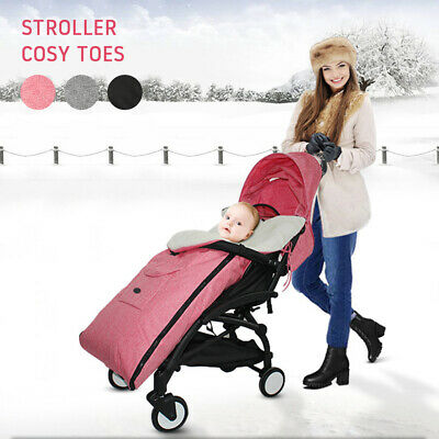 Universal Footmuff Pushchair Baby Cosy Toes Toddler Buggy Stroller Pram Long New