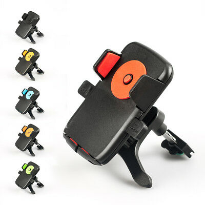 Universal 360°Rotation Car Air Vent Mount Cradle Holder Stand for Cell Phon@V HK