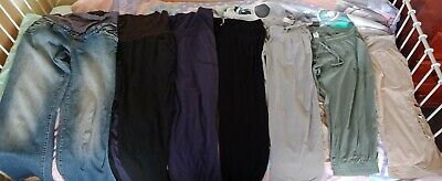 Assorted Size 14/M Maternity pants, Jeans and shorts