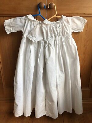 Two Pretty Vintage Baby's Nightdresses