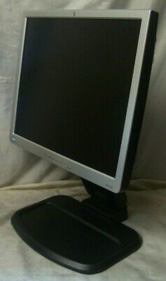 """17"""" HP 1740 LCD Monitor Complete With Power Lead"""