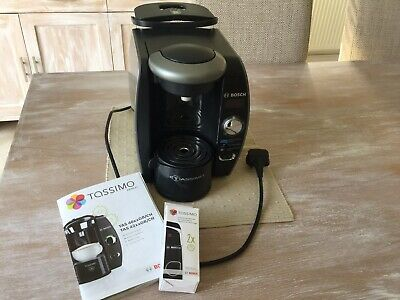 Bosch Tassimo Coffee/Beverage Maker With Descaler Disc And Tablets