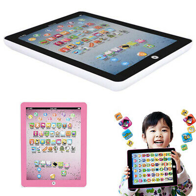 Baby Tablet Kid Educational Toys Gift For 3-7 Year Old Toddler Learning English