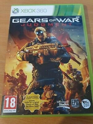 Microsoft Xbox 360 Game - GOW Gears of War : Judgement - Good Condition PAL UK
