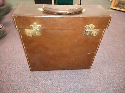 Vintage 1970s Slim Record LP 12 Inch Box Carry Case