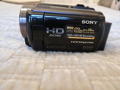 SONY HDR-XR105, Full 1080 HD Camcorder (Black)