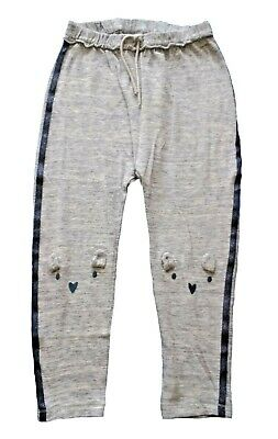 Next Girls Joggers Age 3 4 5 Years Bear Knee Casual Jogging Bottoms Trousers NEW