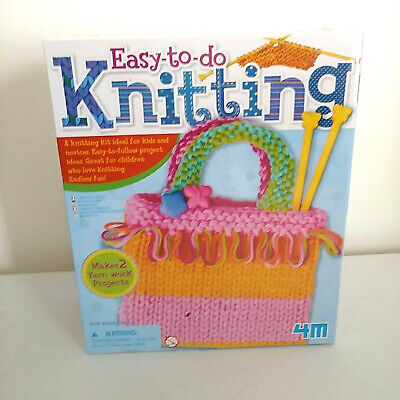 4M Easy To Do Knitting  NEW