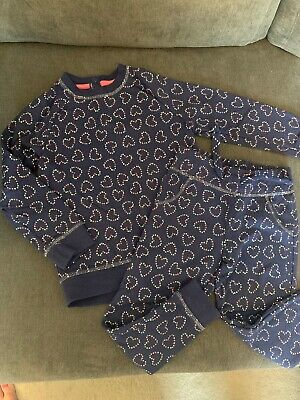 Mothercare Girls Tracksuit. Sweatshirt Jogging Bottoms Age 3-4 And Age 4-5