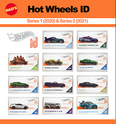 New 2019 Hot Wheels ID Uniquely Identifiable Vehicles You Pick - Series 1 Apple