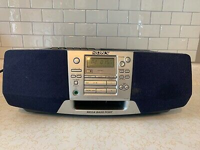 Sony Model CFD-S38 CD AM/FM Radio Cassette-Corder Portable BoomBox - Excellent