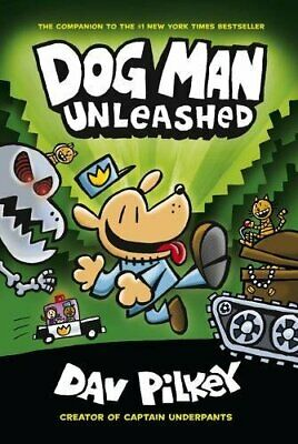 The Adventures of Dog Man 2: Unleashed New Paperback Book