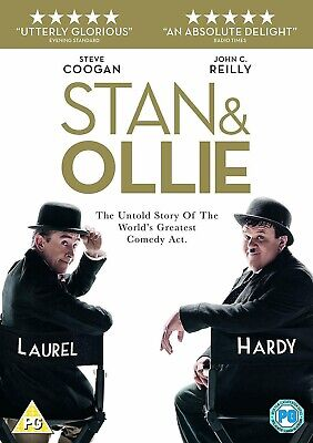 Stan and Ollie DVD, 2019 Brand new sealed