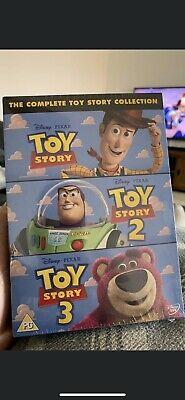 Toy Story 1-3 - Collection (DVD, 2010, 3-Disc Set, Box Set) Sealed!