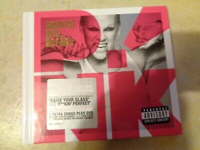 P!NK  Pink – Greatest Hits... So Far!!! cd and DVD in  hardback sleeve