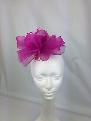 Sale price Pink fascinator on a comb party wedding flower races ascot
