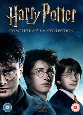 Harry Potter Complete 8- Film Collection New 16 Disc DVD Box Set