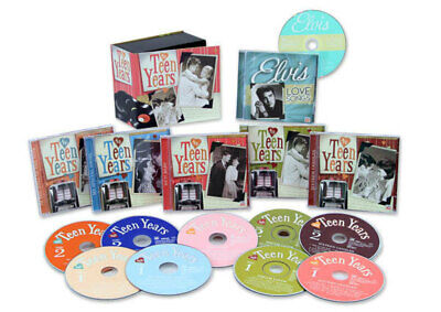 Time Life - The Teen Years - 10 CD Box Set by Various Artists Brand New