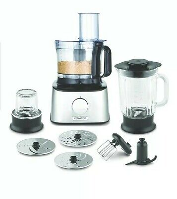 Kenwood Multipro Compact 2 in 1 Food Processor and Blender FDM302SS RRP. £129.99