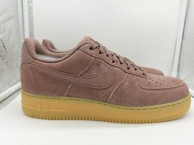 Details about WOMENS NIKE AIR FORCE 1 '07 LX SIZE 5.5 EUR 39 (898889 203)SMOKEY MAUVEBLUE