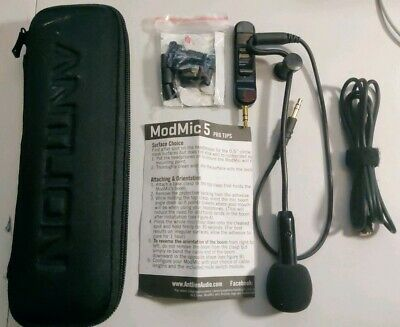 Antlion ModMic 5 - Modular Attachable Boom Microphone with Noise Cancelling - H2