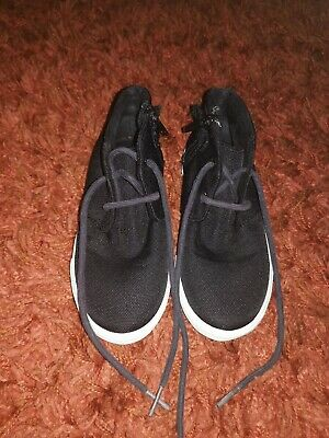 Boys Shoes Size 11 kids . Black. Next