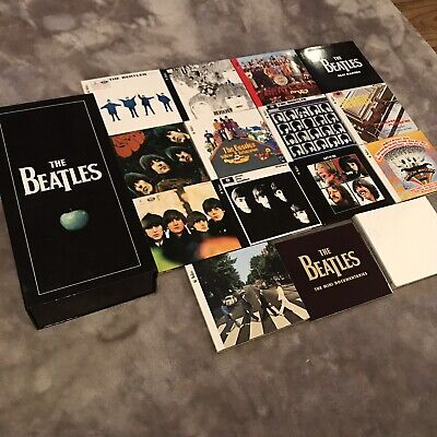 The Beatles Complete Studio Album Collection Stereo Box Set Abbey Road