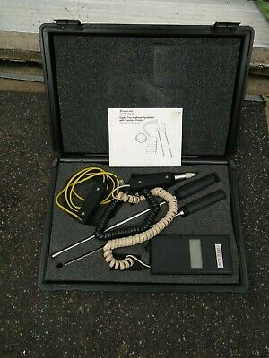 Snap-On Digital Thermometer Pyrometer ACT7000 Standard Probes LCD Damaged
