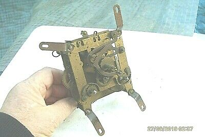 Clock Movement  Time  Piece  Spares Repair  80Mm X  95Mm