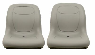 Arctic Cat Prowler Pair (2) Gray Seats Replaces OEM# 1506-925