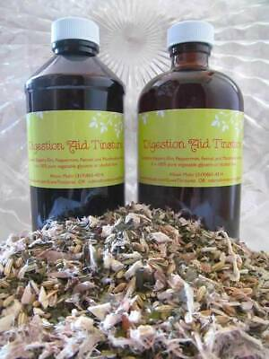 DIGESTION AID - 8oz natural herbal syrup to calm & soothe digestive inflammation