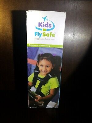 Safe Fly Child Airplane Travel Harness Safety Restraint System Seatbelt FAA New