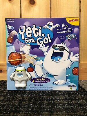 PlayMonster Yeti Set Go Game Damaged Box