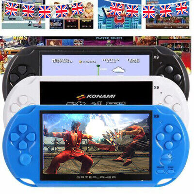 "5"" X9 Portable Handheld Video Game Console 3.0MP Mp3 Player 32bit Xmas Kids Gift"