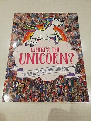"""Wheres the unicorn book *like a """"Where's Wolly"""" Book*"""