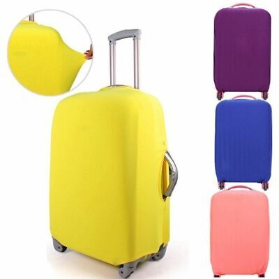 Elastic Fabric Case Suitcase Cover Dust-proof Baggage Protector Candy Color